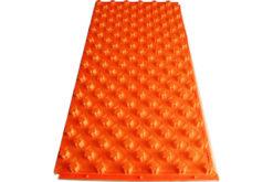 Мат для теплого пола с бобышками Water Floor 22 ламинированный