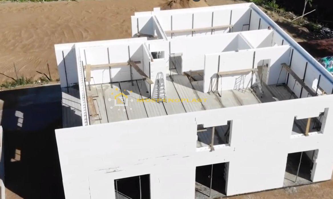 строительство дома из несъемной опалубки 1