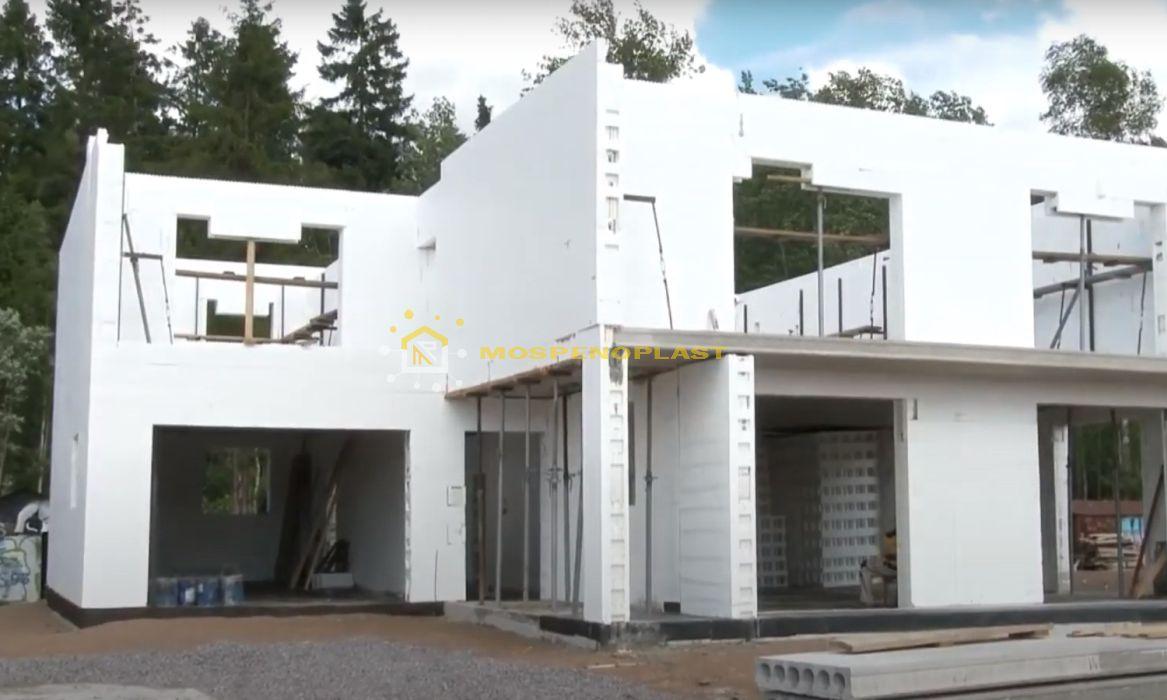 строительство дома из несъемной опалубки 10