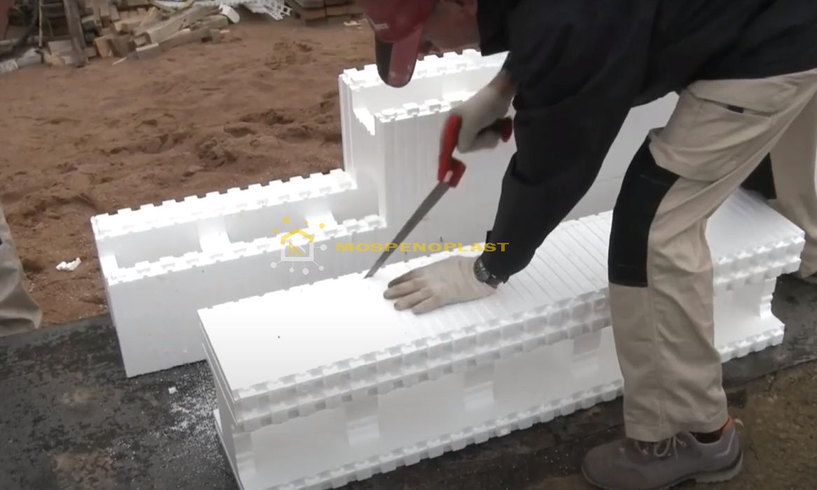 строительство дома из несъемной опалубки 3