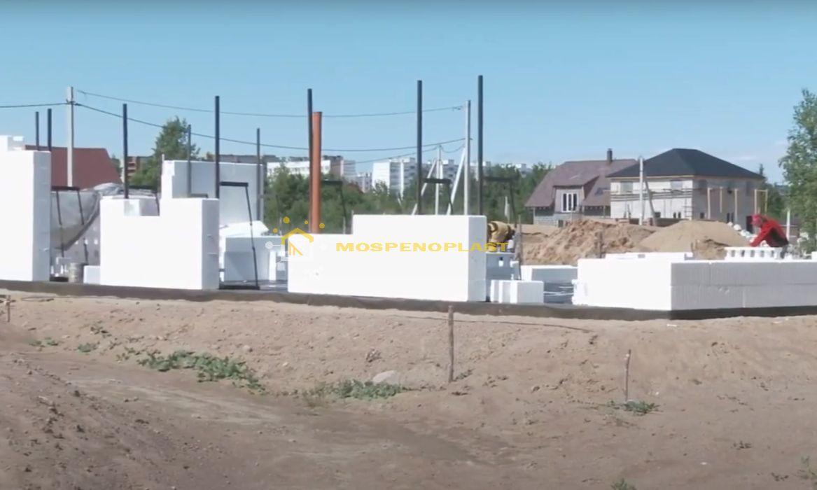 строительство дома из несъемной опалубки 6