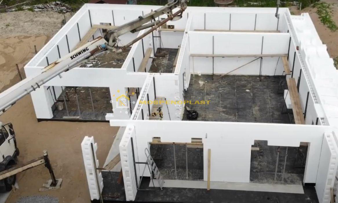 строительство дома из несъемной опалубки 7