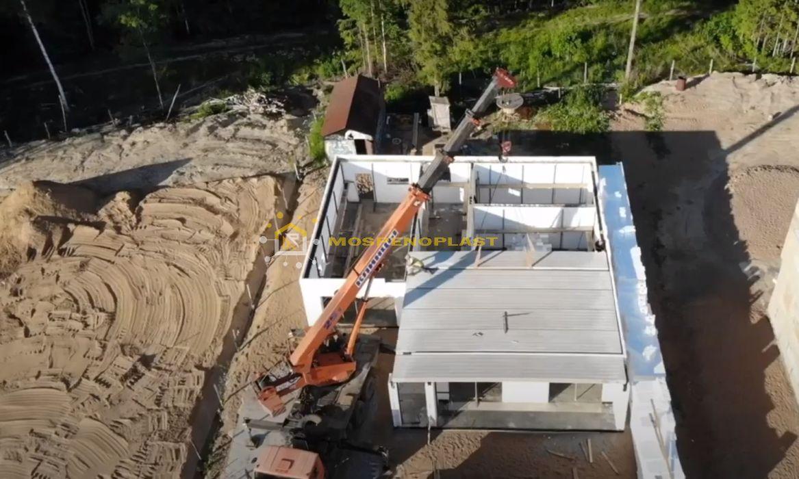 строительство дома из несъемной опалубки 8