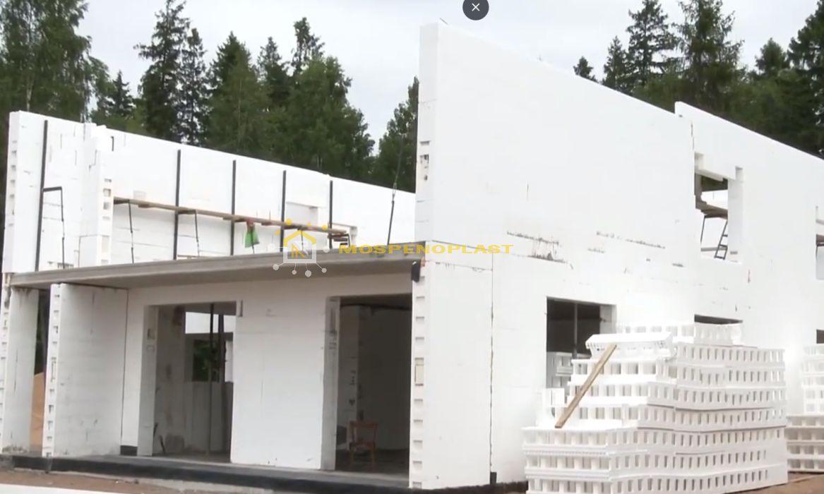 строительство дома из несъемной опалубки 9